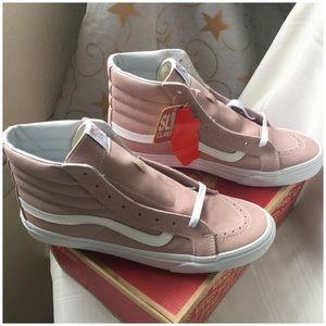 Vans SK8-Hi (Suede/Canvas) Skate Shoe